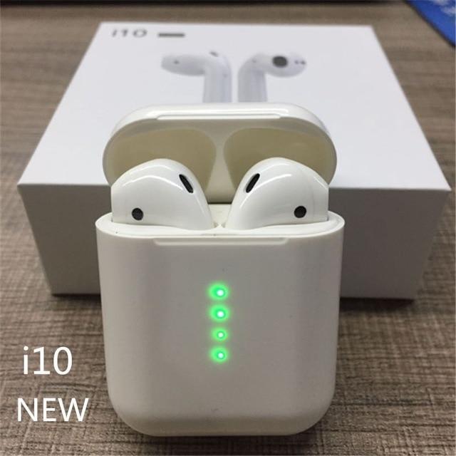 Wearpai i10 TWS bluetooth/наушники мини Беспроводные сенсорные наушники-вкладыши Встроенный микрофон зарядная коробка с портом освещения