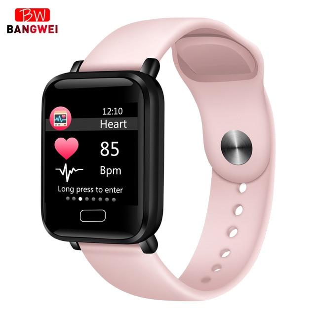 2019 новые женские умные часы водонепроницаемые спортивные для Iphone телефон Smartwatch монитор сердечного ритма функции кровяного давления для детей