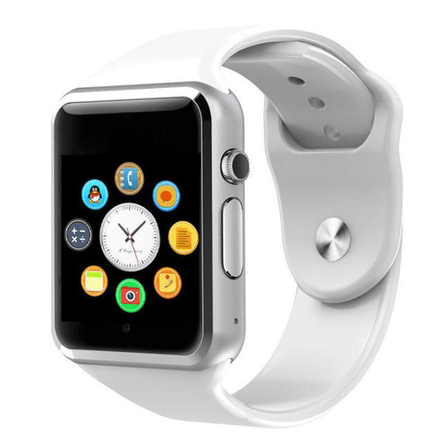A1 наручные часы Bluetooth Смарт часы Спорт Шагомер с сим-камерой Smartwatch для Android смартфон Россия T15 хорошо чем DZ09