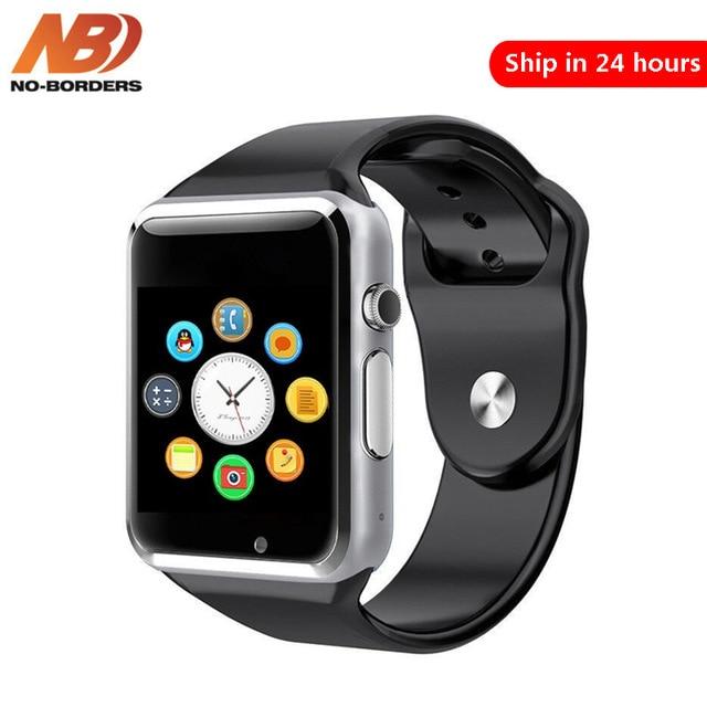 Безграничные A1 наручные часы Bluetooth Смарт часы спортивные Шагомер с сим-камерой Smartwatch для Android PK IWO 8 DZ09 часы