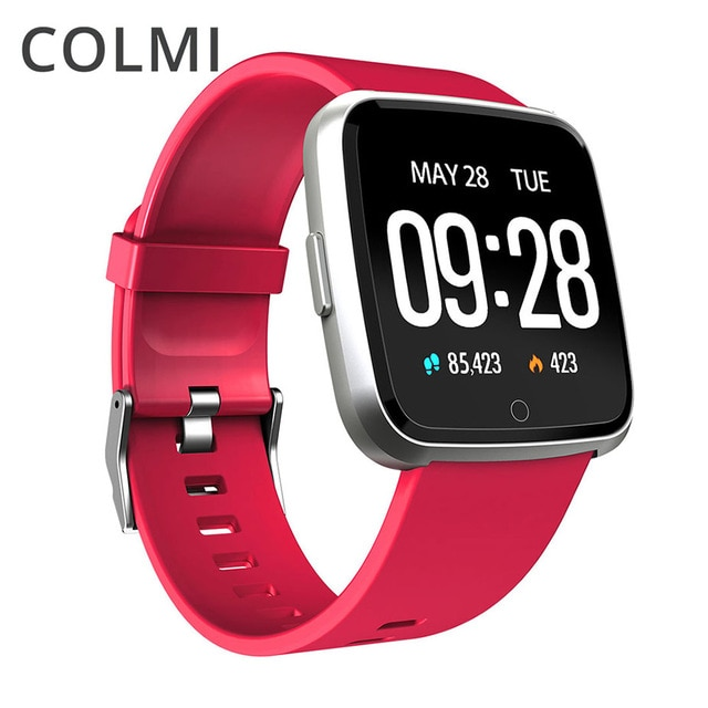COLMI Смарт-часы IP67 Водонепроницаемый Фитнес трекер монитор сердечного ритма крови Давление Для женщин мужские часы, умные часы для Android IOS