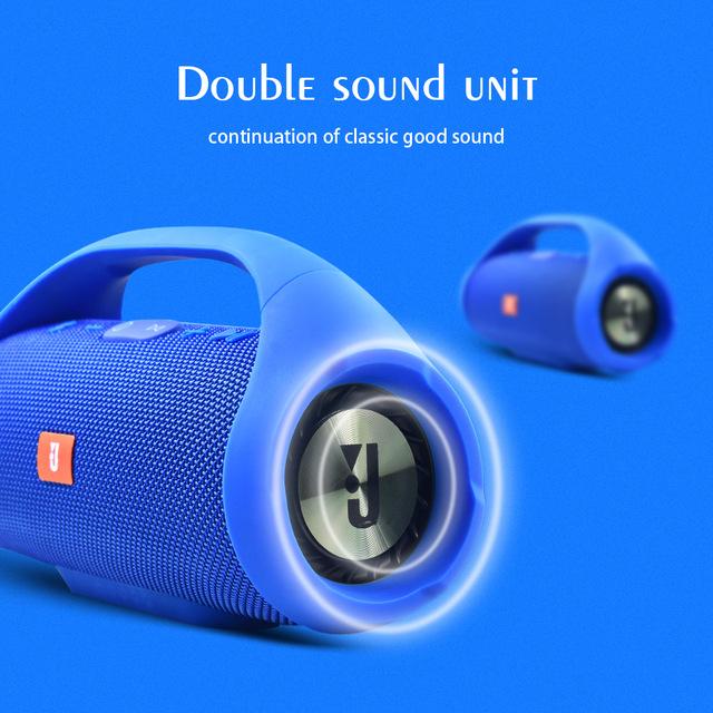 Профессиональный IPX7 Портативный Водонепроницаемый Открытый HIFI Колонка беспроводной Bluetooth динамик сабвуфер, адаптер-звукосниматель Поддержка FM радио TF Mp3