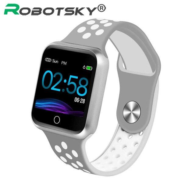 S226 Смарт-часы монитор сердечного ритма кровяное давление IP67 Водонепроницаемый для Android ios женские мужские спортивные умные часы лучший дропшиппинг