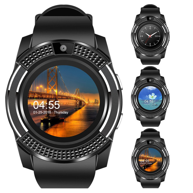 Умные часы мужские Bluetooth спортивные женские наручные часы Rel gio Smartwatch телефон с камерой SIM TF слот для карт Android