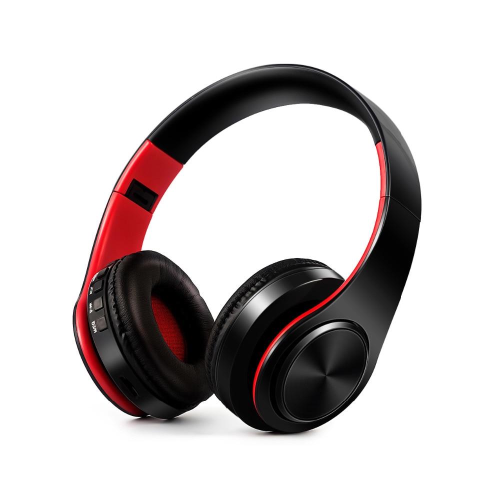 Hi-Fi стереонаушники bluetooth наушники Музыкальная гарнитура FM и поддержка sd-карты с микрофоном для мобильного xiaomi iphone sumsamg tablet