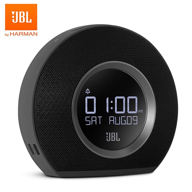 JBL Horizon Bluetooth беспроводной динамик будильник fm-радио с usb зарядкой светодиодный окружающий свет Настольный стереозвук колонка