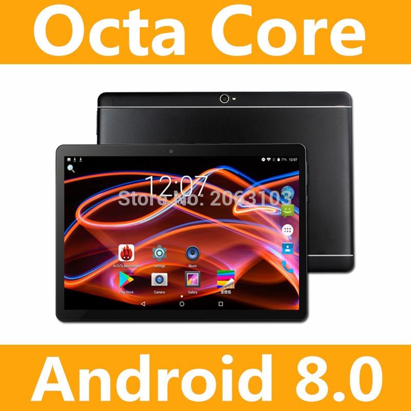 2019 Новый 10-дюймовый Восьмиядерный 3g Tablet 4 GB Оперативная память 32 ГБ Встроенная память Две камеры Android 8,0 Tablet 10,1 дюйма Бесплатная доставка