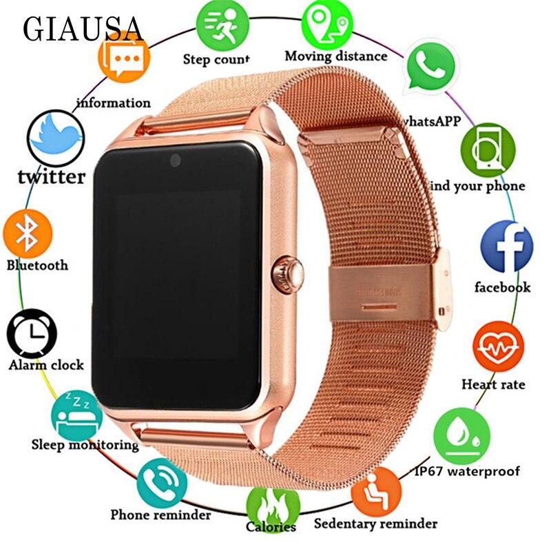 2019 Смарт-часы GT08 плюс металлические часы с слотом для sim-карты Push Message Bluetooth подключение Android IOS Телефон Smartwatch PK S8