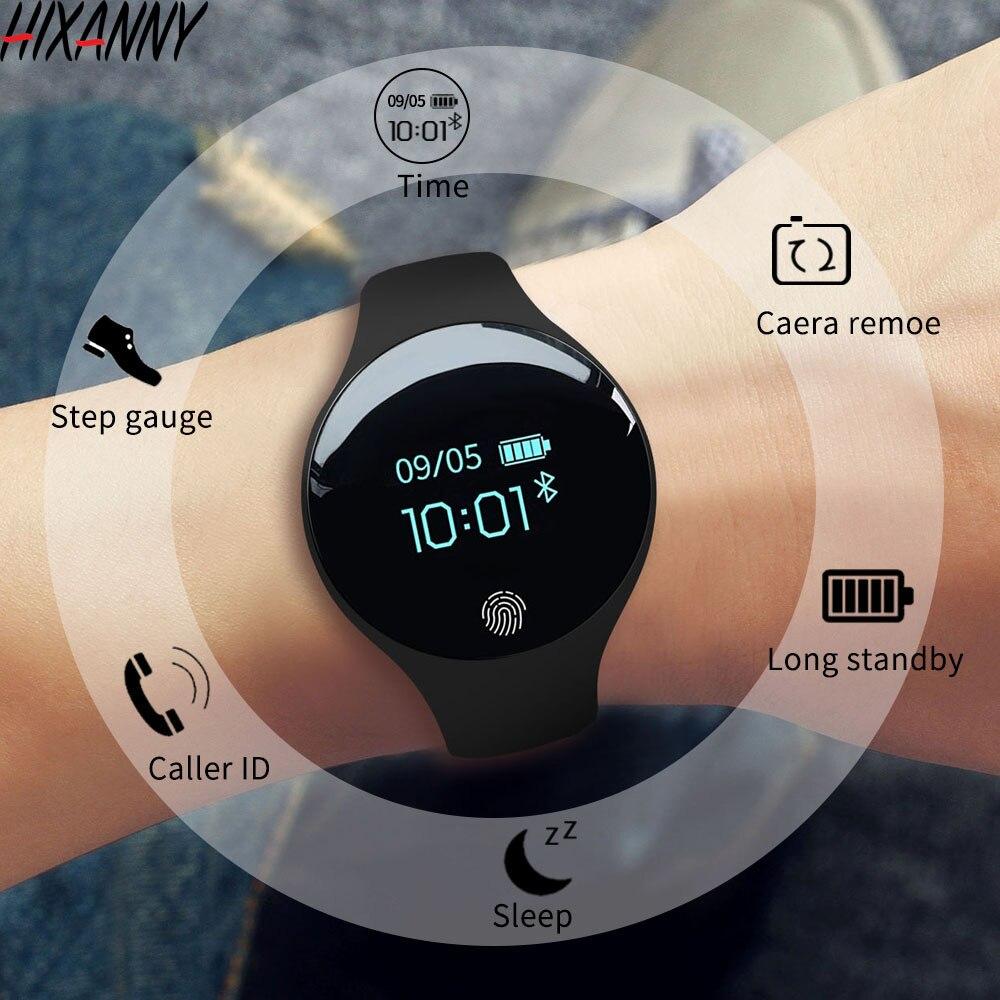 Bluetooth Смарт часы для IOS Android для мужчин женщин Спорт интеллектуальный счетчик шагов Фитнес браслет часы для iPhone часы для мужчин Reloj