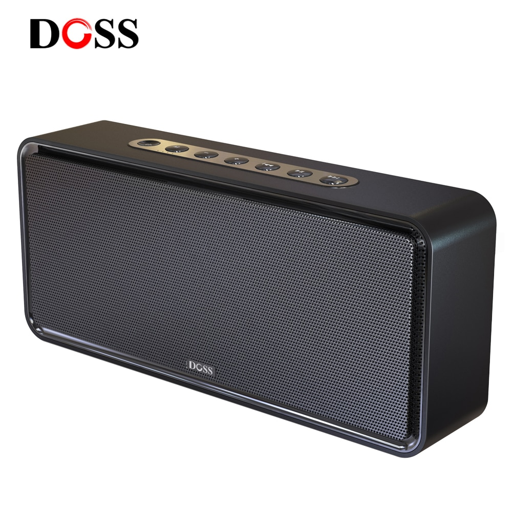 DOSS Bluetooth Колонка Soundbox XL Портативный Беспроводной Блютуз Динамик Акустика 32W Двойной-драйверы колонка для ноутбука Сабвуфер Вибродинамик Объемного музыка Поддержка TF AUX