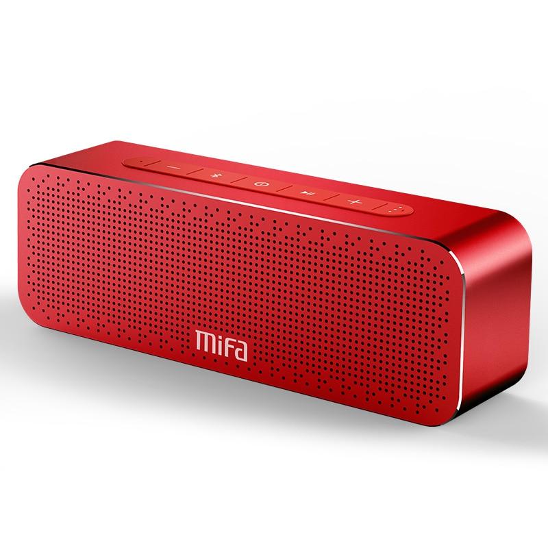 MIFA портативный Bluetooth динамик беспроводной стерео звук Boombox громкоговоритель с микрофоном Поддержка TF AUX TWS