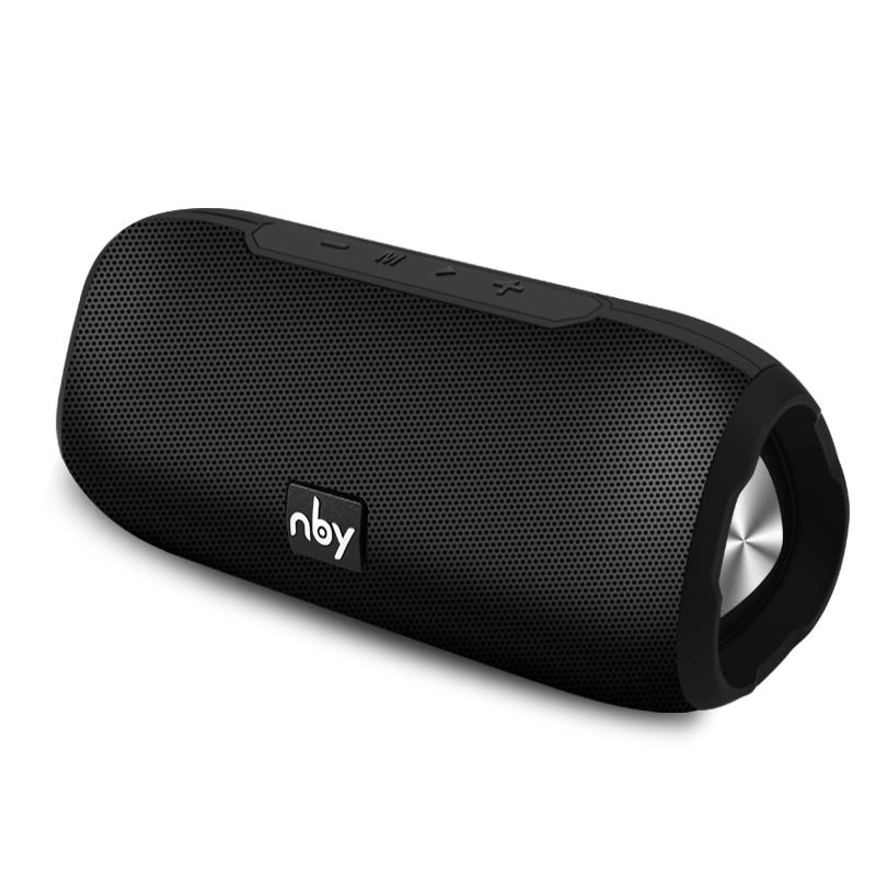NBY портативный Bluetooth динамик беспроводной стерео громкоговоритель звук системы наружный водонепроницаемый динамик 10 Вт Музыка объемный