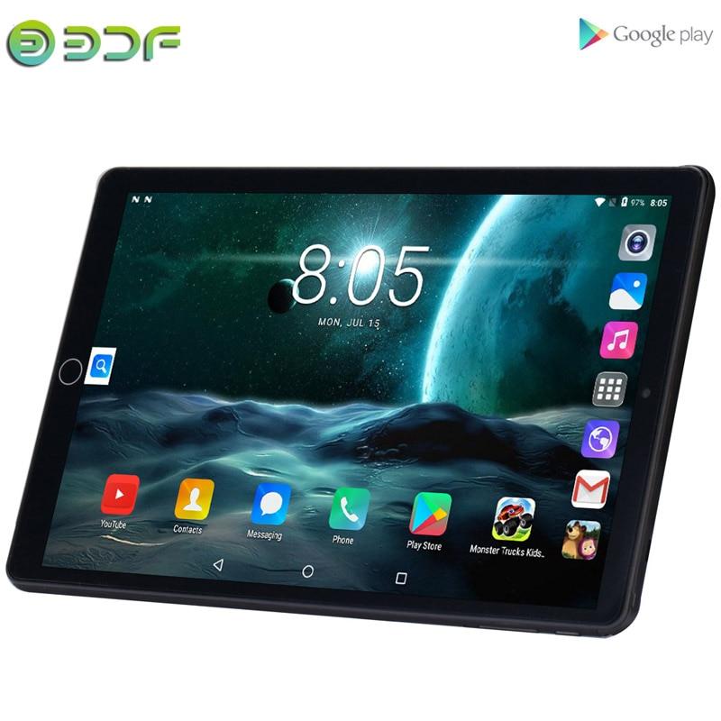 Новая система 10,1 дюймов планшетный ПК 3g телефонный звонок Android 8,0 Wi-Fi Bluetooth 4 Гб/32 ГБ Восьмиядерный Dual SIM Поддержка GPS ПК + клавиатура