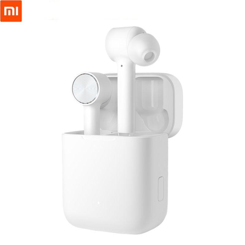 Оригинальные беспроводные наушники Xiaomi Air Bluetooth 4,2, наушники с активным шумоподавлением, умные сенсорные двусторонние наушники