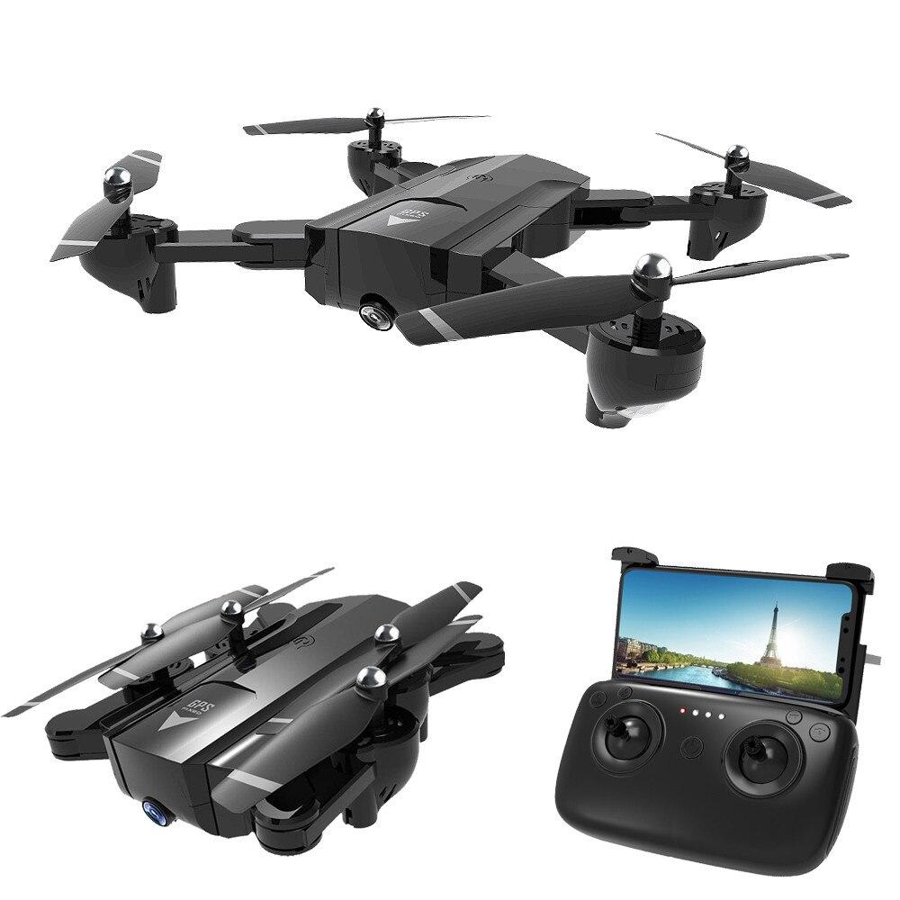 Профессиональные с GPS Дроны с разрешением 1080 P 720 P 5G WiFi HD камера Дрон SG900 Follow Me высота держать Квадрокоптер складной SG900-S Drone
