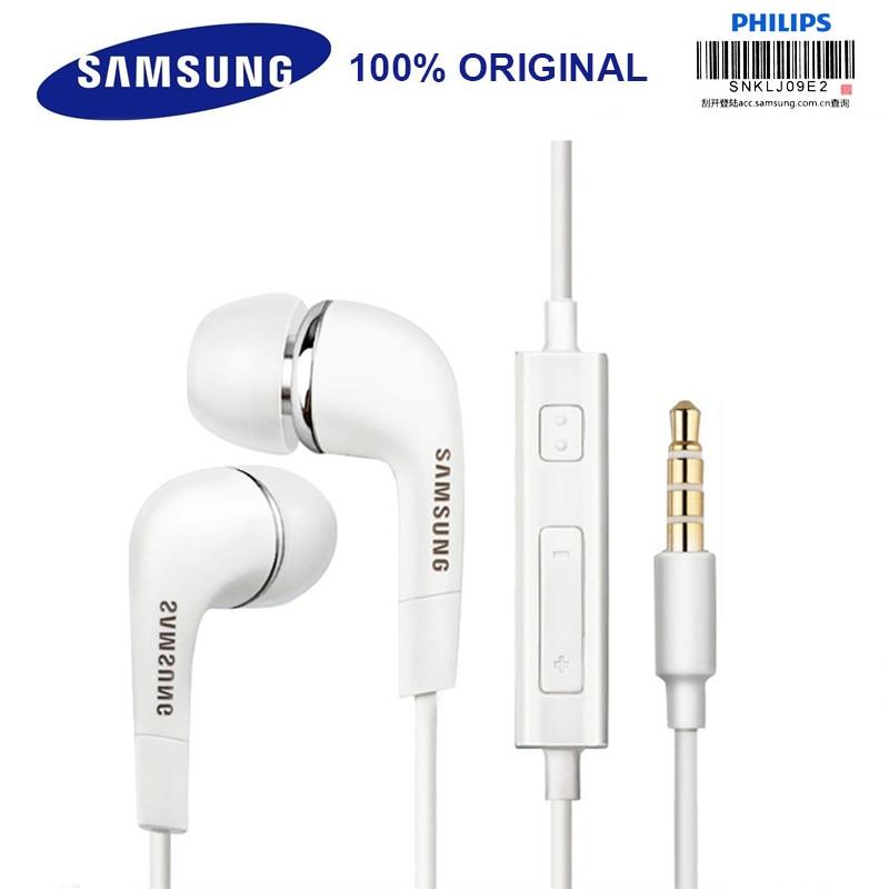 Samsung оригинальные наушники EHS64 проводной 3,5 мм наушники-вкладыши с микрофоном для samsung Galaxy S8 S8Edge Поддержка официальная сертификация