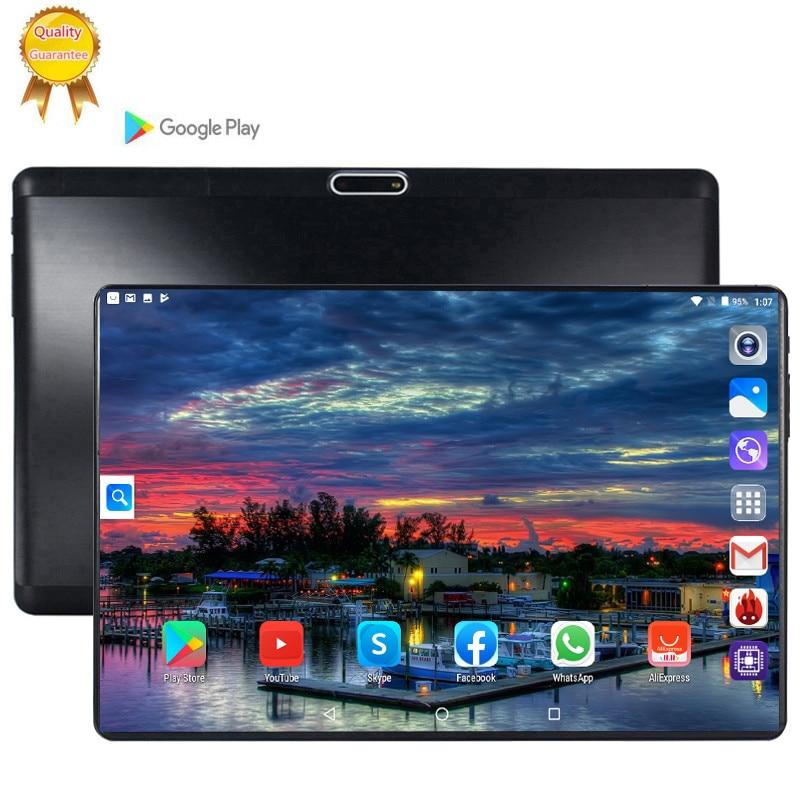 Стальной экран ips планшетный ПК 3G Octa Core Google Play The kids tablette enfant 6 ГБ ОЗУ 64 Гб ПЗУ WiFi gps планшет 10,1 android 9,0