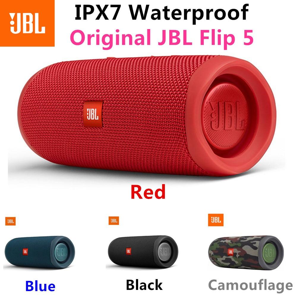 100% оригинальный JBL Flip 5 Bluetooth динамик, портативная IPX7 Водонепроницаемая беспроводная уличная стерео музыка с басами JBL FLIP5|Портативные колонки| | АлиЭкспресс