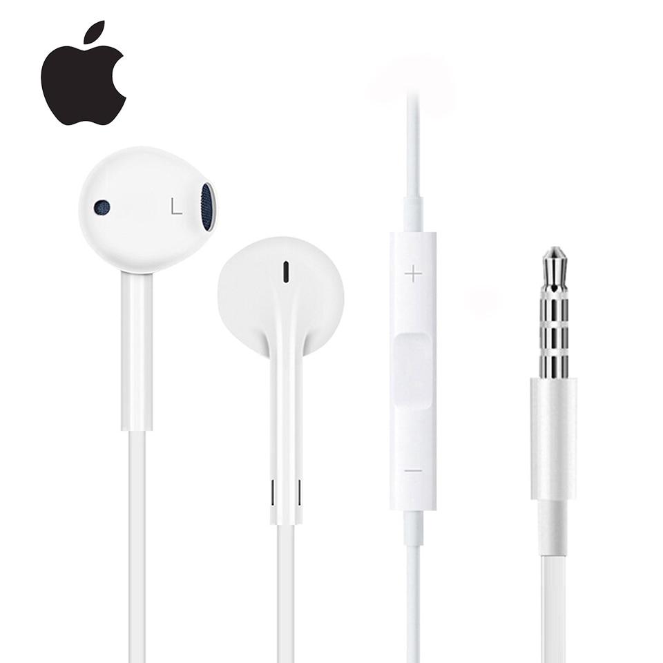 Оригинальные наушники Apple Earpods с разъемом 3,5 мм и разъемом Lightning, спортивные наушники вкладыши, глубокие богаче басов, гарнитура для iPhone/iPad, Android Наушники и гарнитуры    АлиЭкспресс