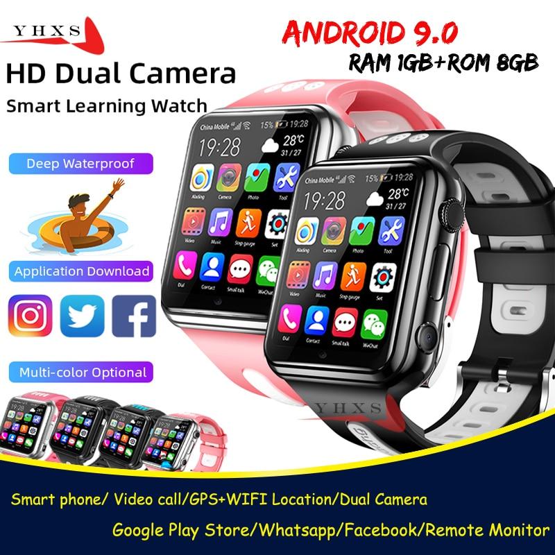 Смарт часы на Android 9,0 с озу 1 гб пзу 8 гб, 4G GPS, детская студенческая музыкальная камера, наручные часы с монитором SOS, отслеживанием местоположения, часы для телефона Google Play|Смарт-часы| | АлиЭкспресс